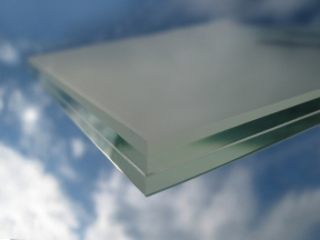 Lepené sklo matné 10,4mm - VSG 55.1(Connex)