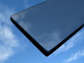 Barevné sklo - Planibel šedý (gray) 6mm