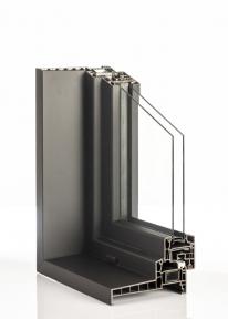 Izolační ornamentní /mléčné dvojsklo s hliníkovým rámečkem, Ug=1,3 (celková síla skla 20mm – 22mm)