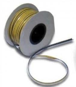 Šňůra těsnící žáruvzdorná s oboustranně lepící páskou 2mm