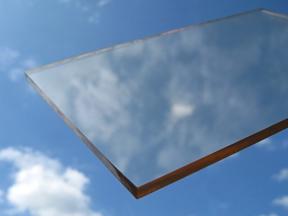 Žáruvzdorné sklo - Krbové sklo